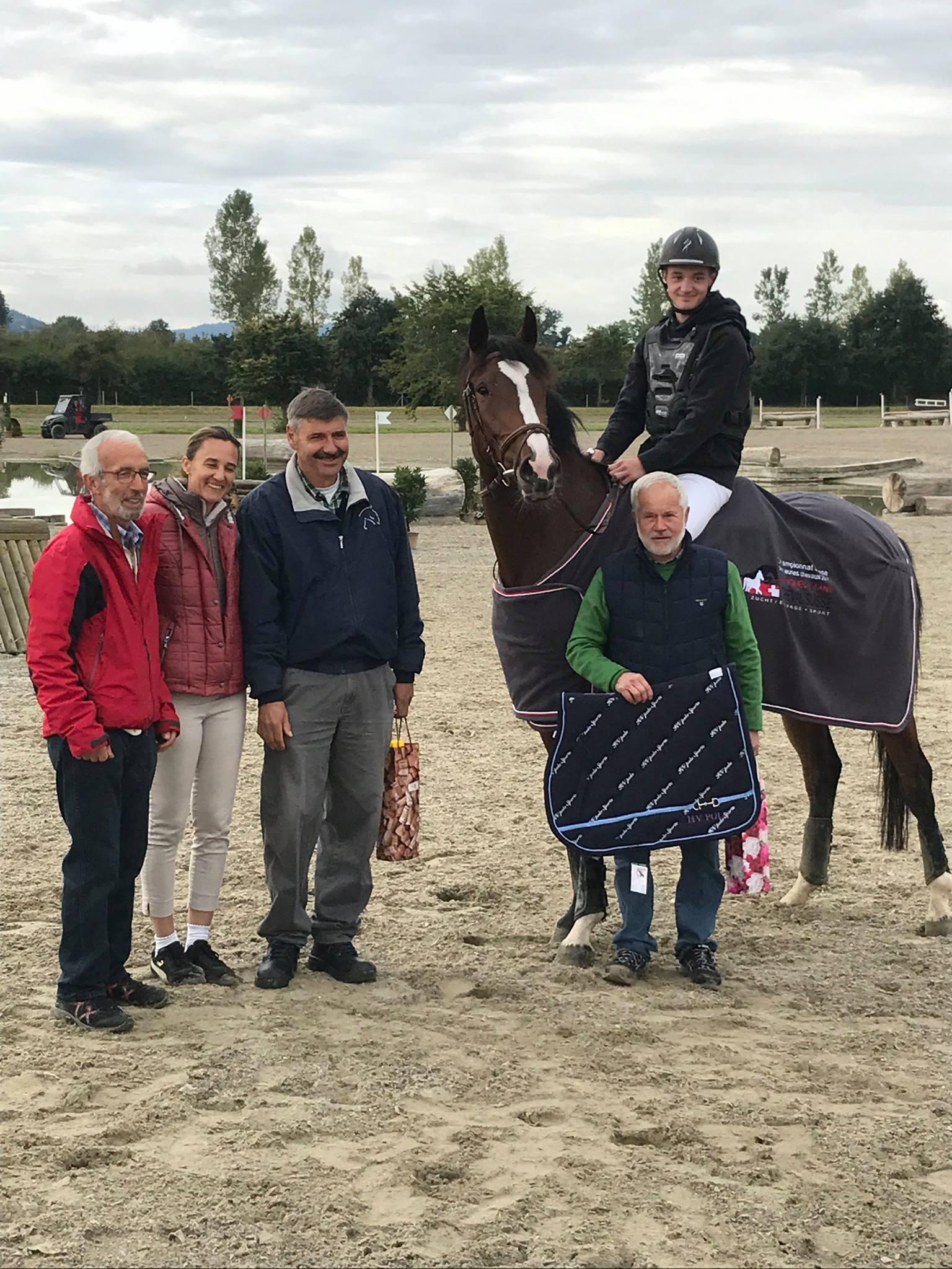 [News] Robin Godel et Gin Tonic Dudevin CH, meilleur paire 4 ans du Horse Trials d'Avenches