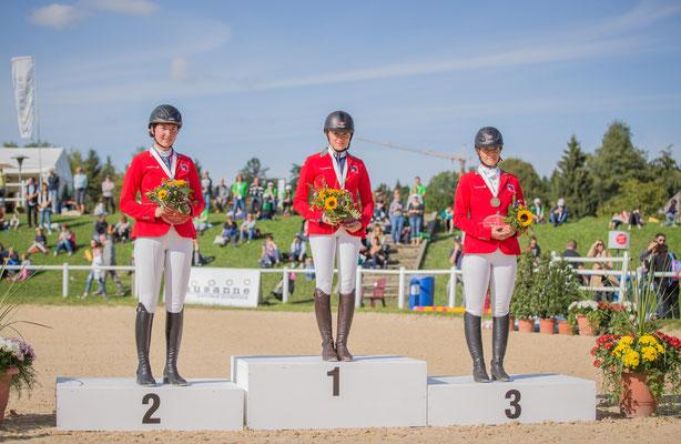 [Championnat Suisse Jeune Cavalier – Elite]L'argent pour Linda et Venus
