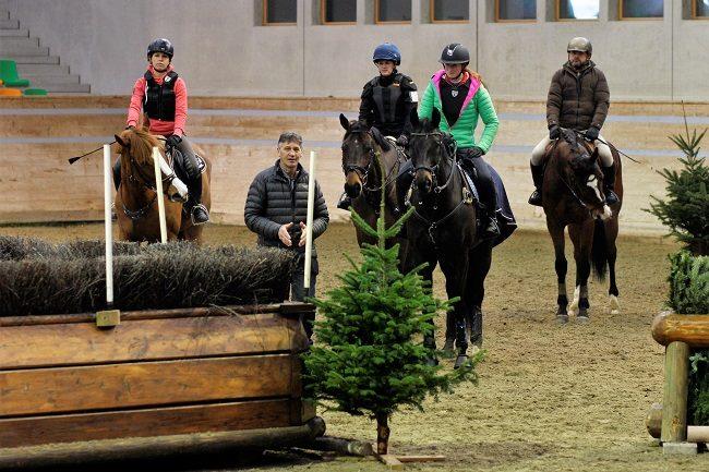 Une star mondial pour nos cavaliers suisses de Concours Complet!