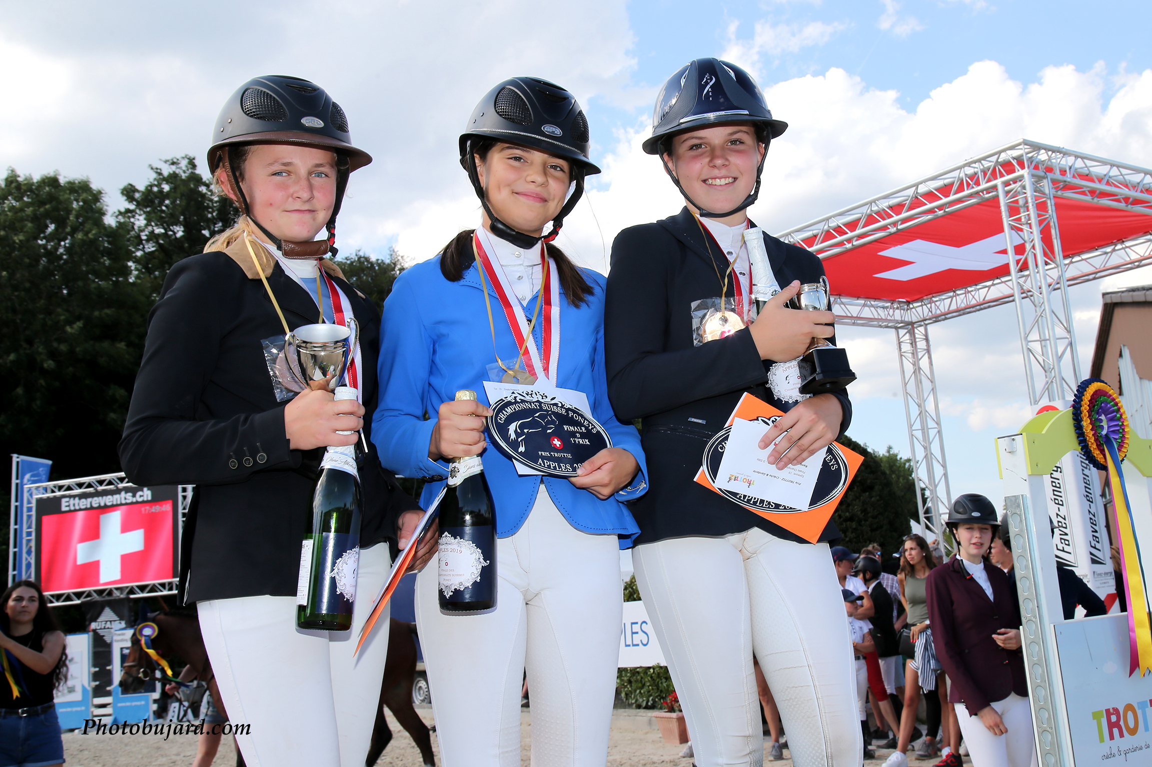 Championnats Suisses Poneys Apples 2019