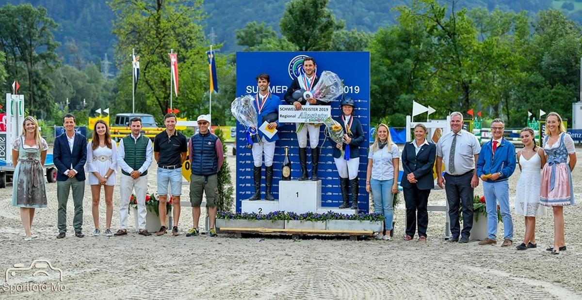 2 Fribourgeois sur le podium du Championnat Suisse R